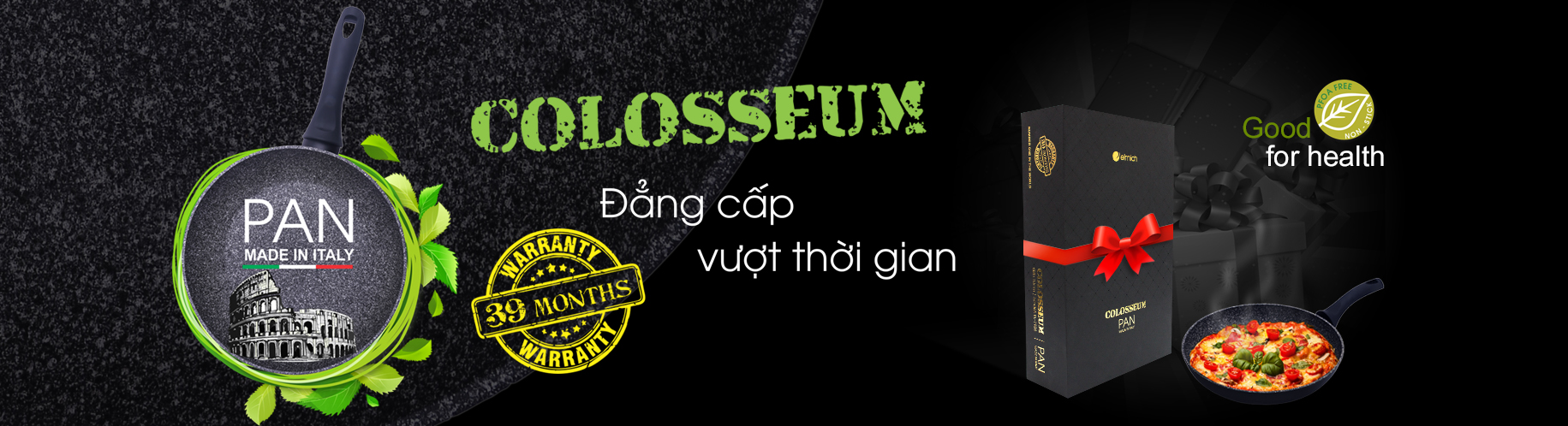 Banner chảo Colosseum